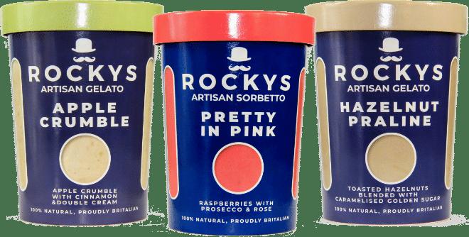 Rockys Gelato Pots